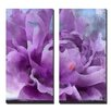 Ready2hangart 'Painted Petals LI' by Ready2HangArt™ 2 Piece Graphic Art on Canvas Set