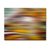 Ready2hangart 'Blur Stripes XVIII' Graphic Art on Canvas