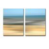 Ready2hangart 'Blur Stripes XV' 2 Piece Wall Art on Canvas Set