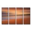 Ready2hangart 'Blur Stripes XLIV' 4 Piece Wall Art on Canvas Set