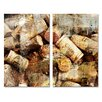 Ready2hangart 'Never Enough Corks' 2 Piece Graphic Art on Wrapped Canvas Set