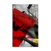 Ready2hangart 'Red' Framed Graphic Art on Wrapped Canvas
