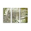 Ready2hangart 'Abstract Palms' 3 Piece Graphic Art on Wrapped Canvas Set