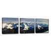 Ready2hangart 'Icy Escape' by Christopher Doherty 3 Piece Framed Photographic Print on Wrapped Canvas Set