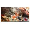 Ready2hangart 'Painted Petals XV' Painting Print on Wrapped Canvas