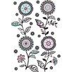 Wallpops! Wandtattoo Floral Medley
