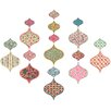 Wallpops! Boho Chic Ogee Large Wall Sticker (Set of 2)