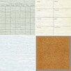 Wallpops! 4 Piece Weathered Organisation Dry Erase Wall Sticker Set