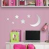 MirrorArt Moon and Stars Wall Sticker