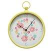"""Stratton Home Decor 12"""" Retro Wall Clock"""