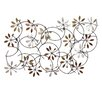 Stratton Home Decor Simple Floral Wall Décor