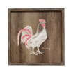 Stratton Home Decor 'Rooster' Framed Graphic Art