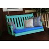 A&L Furniture Traditional English Porch Swing