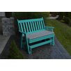 A&L Furniture Traditional English Gliding Bench