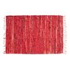 Ess Ess Exports Rodeo Handmade Red Area Rug