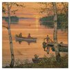 WGI-GALLERY Lakeland Sunset by Lee Kromschroeder Painting Print Plaque