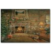 WGI-GALLERY Woodland Warmth Painting Print Plaque
