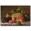 WGI-GALLERY Grapes Painting Print Plaque