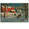WGI-GALLERY The Good Old Barn by Sam Timm Painting Print Plaque