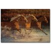 WGI-GALLERY Thundering Water Painting Print Plaque