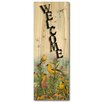 WGI-GALLERY Welcome Golden by Mark Hanson Glories Graphic Art Plaque