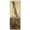 WGI-GALLERY Welcome Linda's Bluebirds by Sam Timm Graphic Plaque