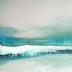 Art Excuse 'Wave Study' by AX Original Painting on Wrapped Canvas