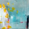 Art Excuse 'Morning Glimpse' by AX Original Painting on Wrapped Canvas