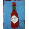 Art Excuse Sauce by Regine LaFata Original Painting on Wrapped Canvas
