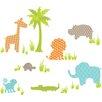 Wallpops!WallArtforBaby Jungle Friends Baby Wall Stickers