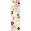Wallpops!WallArtforBaby Butterfly Garden Baby Growth Chart Wall Stickers