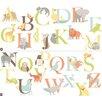 Wallpops!WallArtforBaby Alphabet Zoo Baby Wall Stickers