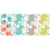 Wallpops!WallArtforBaby Tag Along Elephants Baby Wall Stickers