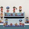 WallPops!Kids Argh Pirates Kids Stripes Wall Kit