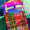 RareArtStudios London Telephone Box Limited Graphic Art Wrapped on Canvas