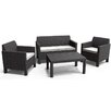 Allibert Orlando 5 Seater Sofa Set with Cushions