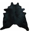 Chesterfield Leather Large Dyed  Brazilian Cowhide Black Area Rug