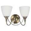 Pagazzi Lighting Nottingham 2 Light Wall Sconce