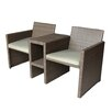 Brundle Gardener 2 Seater Rattan Love Seat