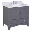 "Kitchen Bath Collection Abbey 36"" Single Bathroom Vanity Set"