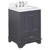 "Kitchen Bath Collection Nantucket 25"" Single Bathroom Vanity Set"