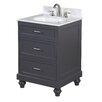 "Kitchen Bath Collection Amelia 24"" Single Bathroom Vanity Set"