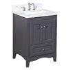 "Kitchen Bath Collection Abbey 24"" Single Bathroom Vanity Set"