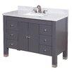 "Kitchen Bath Collection Riley 48"" Single Bathroom Vanity Set"