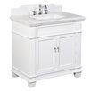 "Kitchen Bath Collection Elizabeth 36"" Single Bathroom Vanity Set"