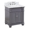 "Kitchen Bath Collection Elizabeth 30"" Single Bathroom Vanity Set"