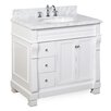 "Kitchen Bath Collection Westminster 36"" Single Bathroom Vanity Set"
