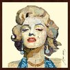 """Empire Art Direct """"Homage to Marilyn"""" Original Dimensional Collage Hand Signed by Alex Zeng Framed Graphic Art"""
