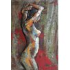 Empire Art Direct 'Nude Study 3' Mixed Media Iron Wall Sculpture