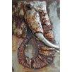 Empire Art Direct 'Elephant' Mixed Media Iron Wall Sculpture
